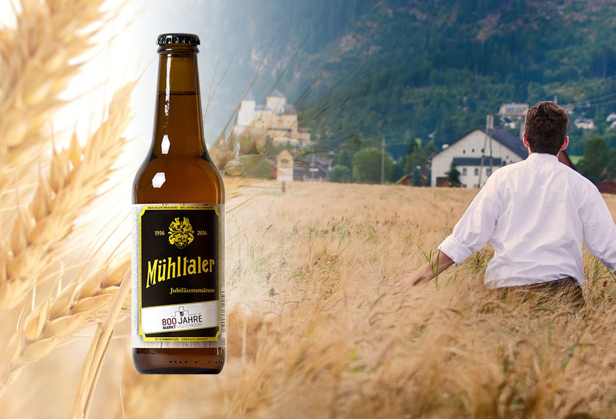 800 Jahre Mauterndorf Bier Jubiläumsmärzen