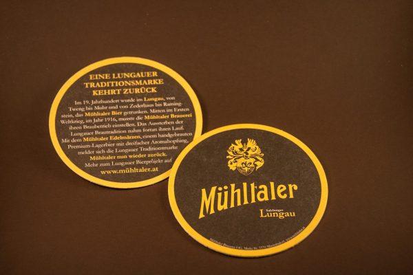 Bierdeckel Mühltaler Brauerei
